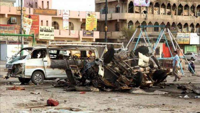 Atentado en el centro de Irak. resumenmedioriente.org.