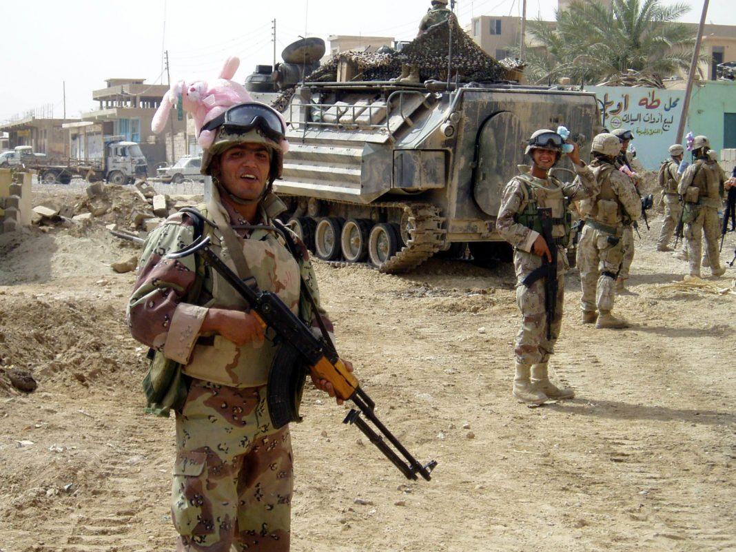 Soldado iraquí. Imagen de archivo.