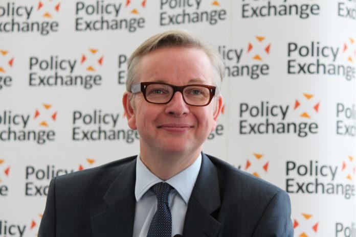 Michael Gove, ministro de Justicia de Reino Unido.