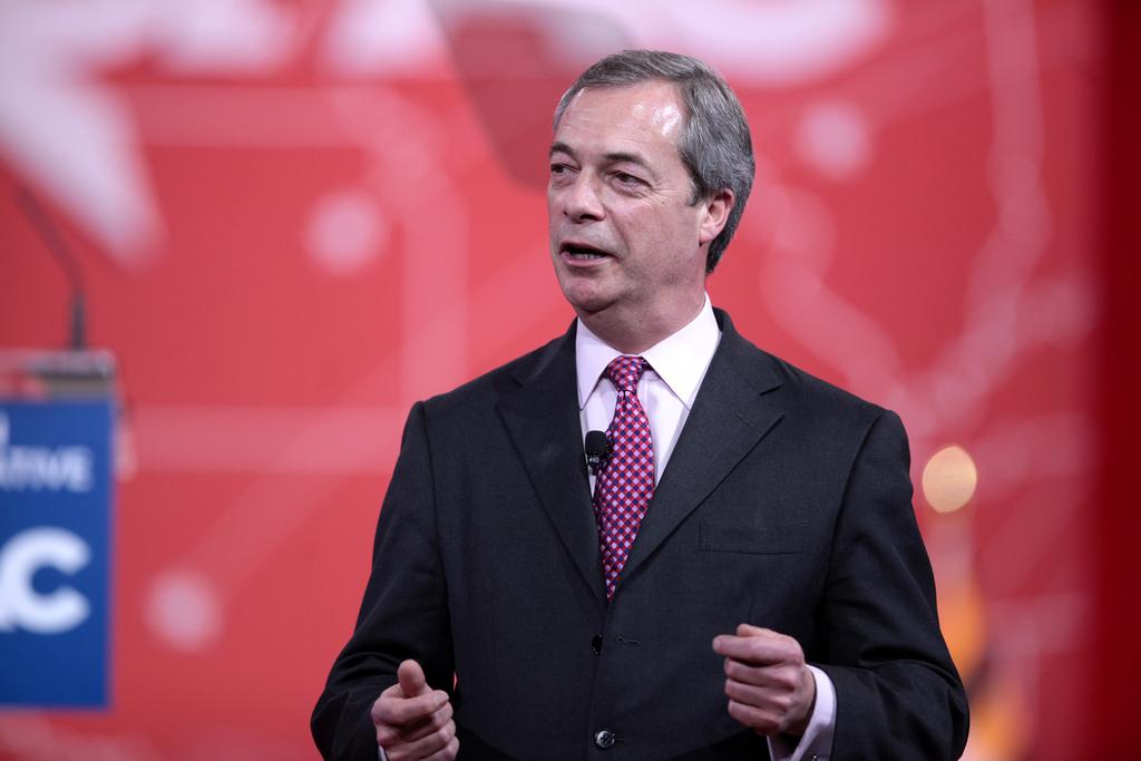 Nigel Farage, líder de UKIP.
