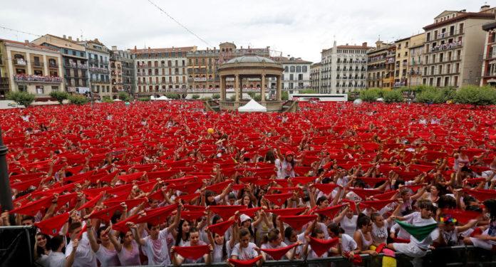 Imagen de las fiestas de San Fermín. Imagen de archivo.