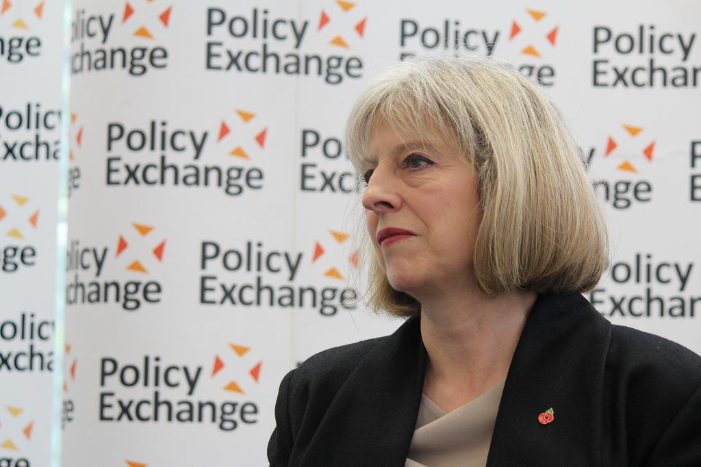 Theresa May, primera ministra británica.