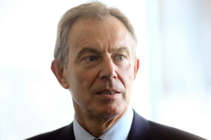 El ex primer ministro de Reino Unido, Tony Blair.