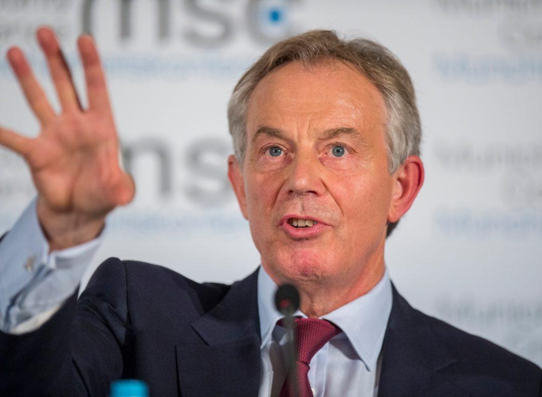 Tony Blair, ex primer ministro de Reino Unido.