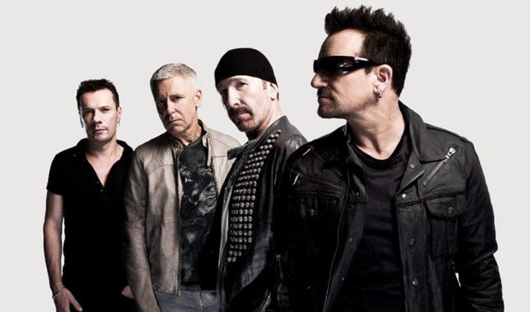 La banda U2 de turista en Valencia