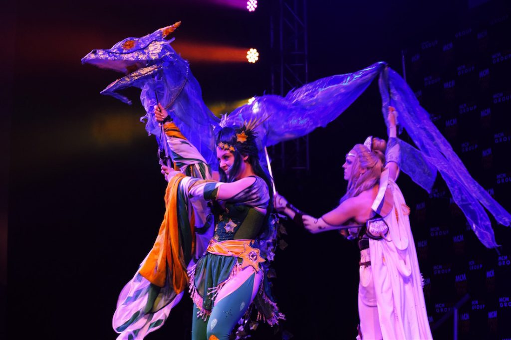 CC Foto2 (Laura Sindall and Lex Lare, winners of the cosplay contest)