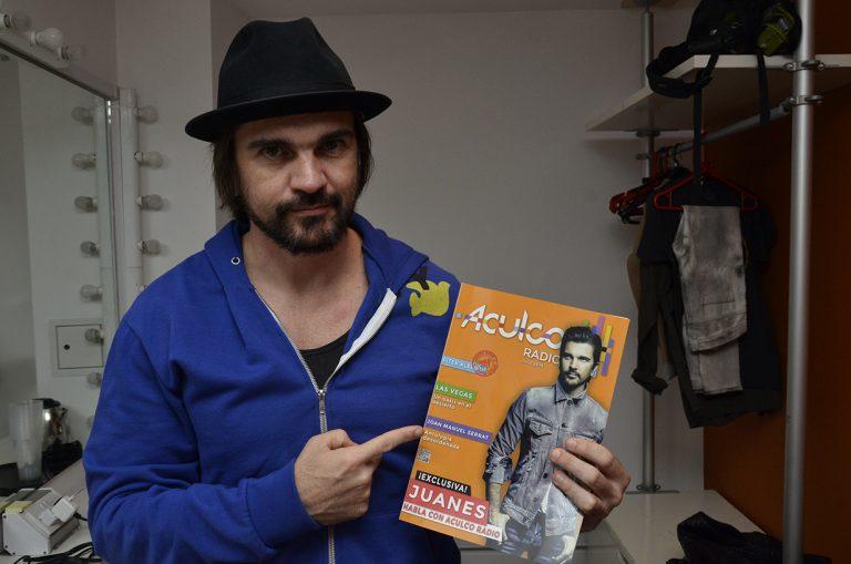Juanes Iluminó El roundhouse