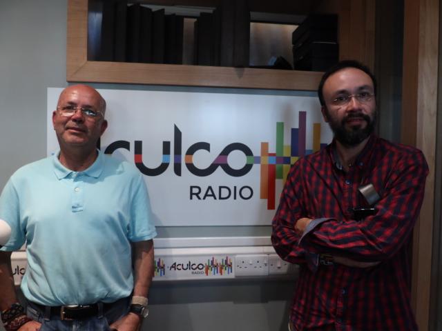 Álvaro Zuleta e Iván Santos