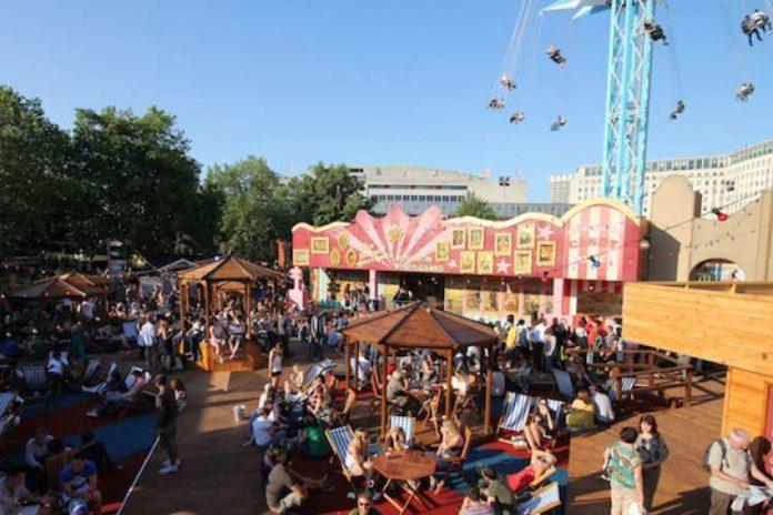 Parque de atracciones Wonderground Festival