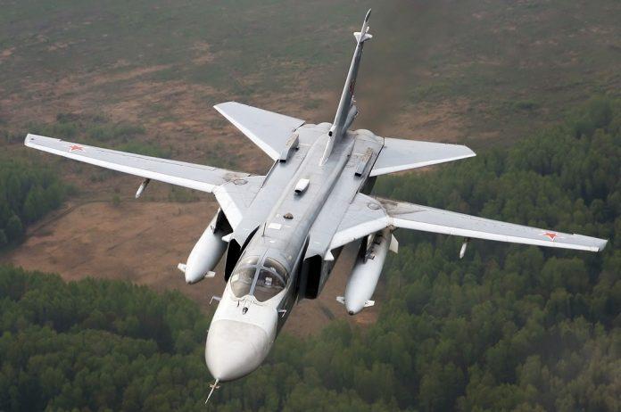 Bombarderos rusos. Imagen de archivo.