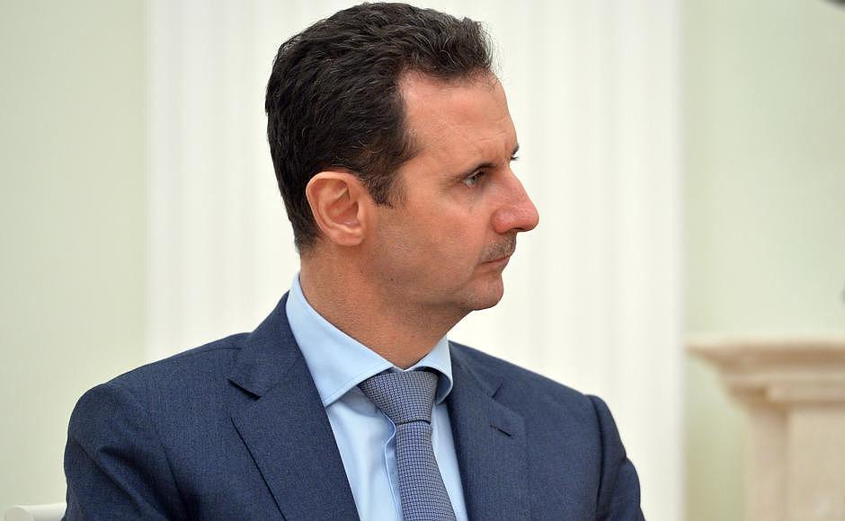 Bashar al-Assad, presidente de Siria. Imagen de archivo.