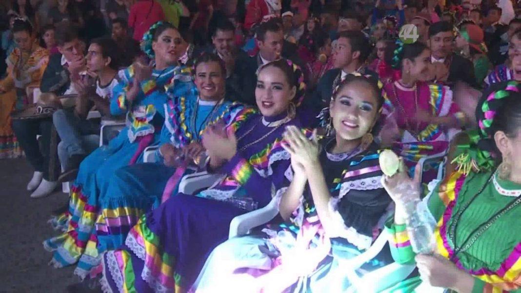 Festival Internacional de Danza Folklórica Colores del Mundo. Imagen de archivo.