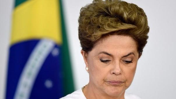 El Senado destituyó a Dilma
