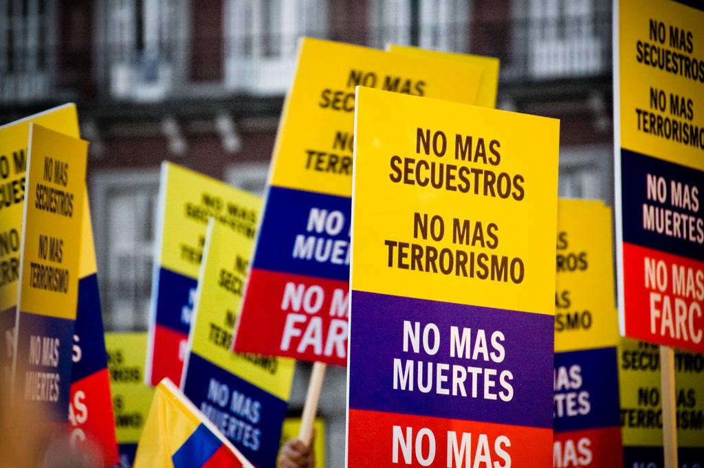 El referendo del proceso de paz pone en jaque a la política colombiana. Imagen de archivo.