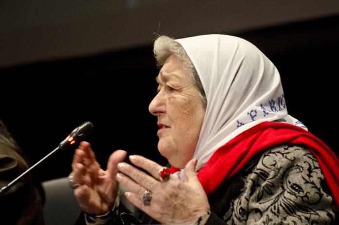 Hebe de Bonafini, presidenta de la Asociación Madre de Plaza de Mayo.