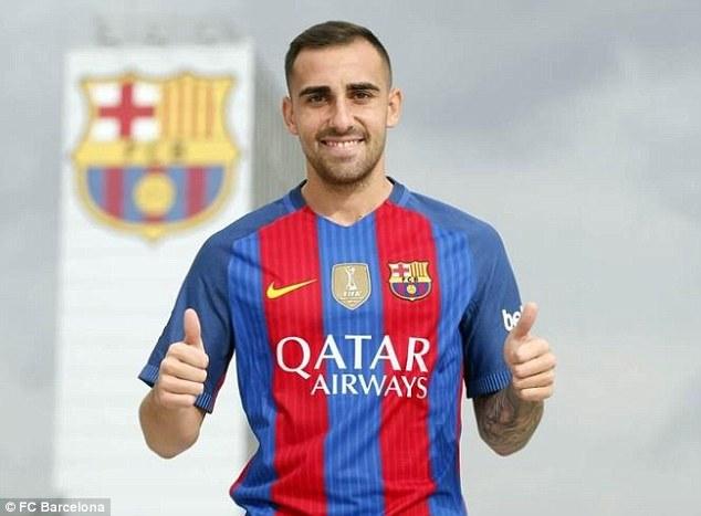 El Barcelona sumó a un nuevo atacante
