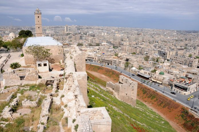 Los camiones empezarán a repartir ayuda en Alepo. Imagen de archivo.