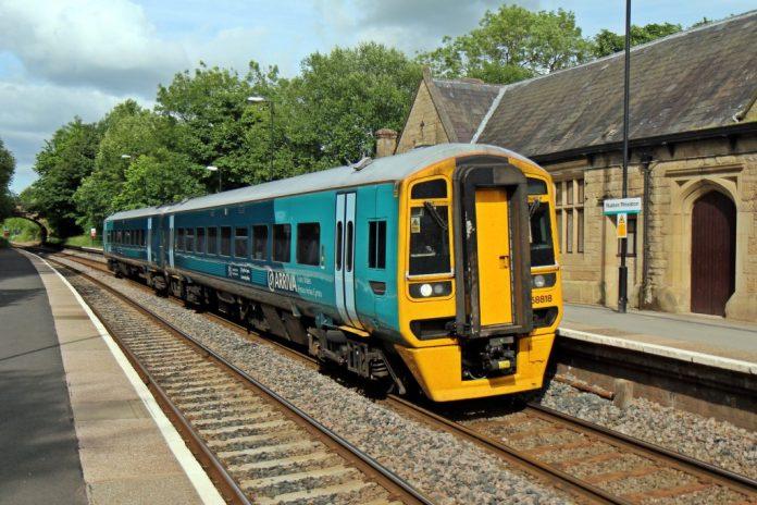 Las fuertes lluvias provocan el caos en los servicios de trenes. Imagen de archivo.