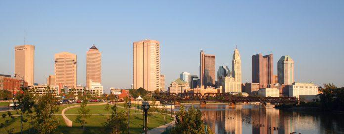 Columbus, Ohio. Imagen de archivo.