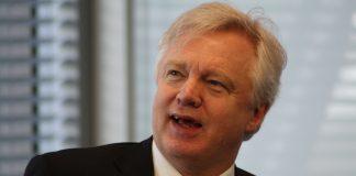 David Davis, ministro del Brexit. Imagen de archivo.