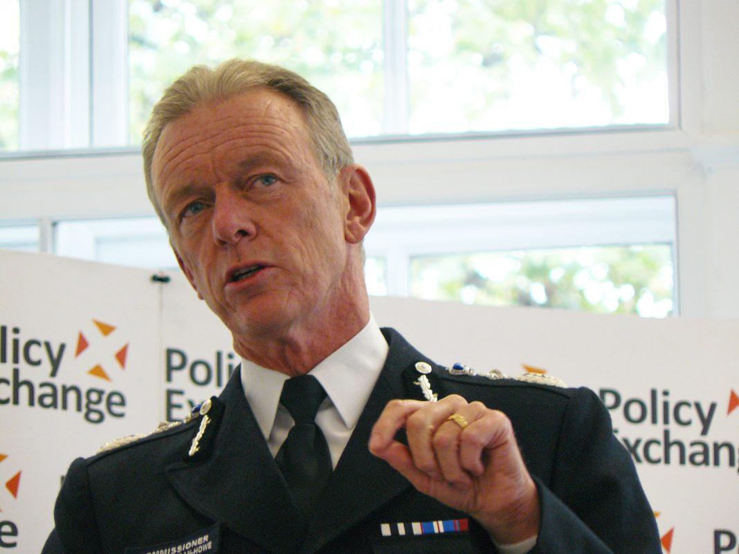 El Comisionado de la Policía Metropolitana, Sir Bernard Hogan-Howe. Imagen de archivo.