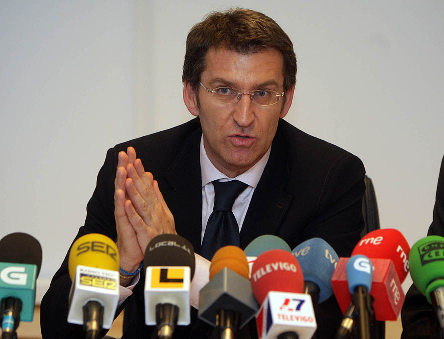 El presidente de Galicia, Alberto Núñez Feijoó. Imagen de archivo.