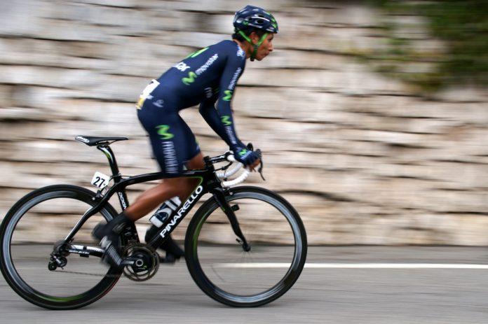 El ciclista, Nairo Quintana. Imagen de archivo.