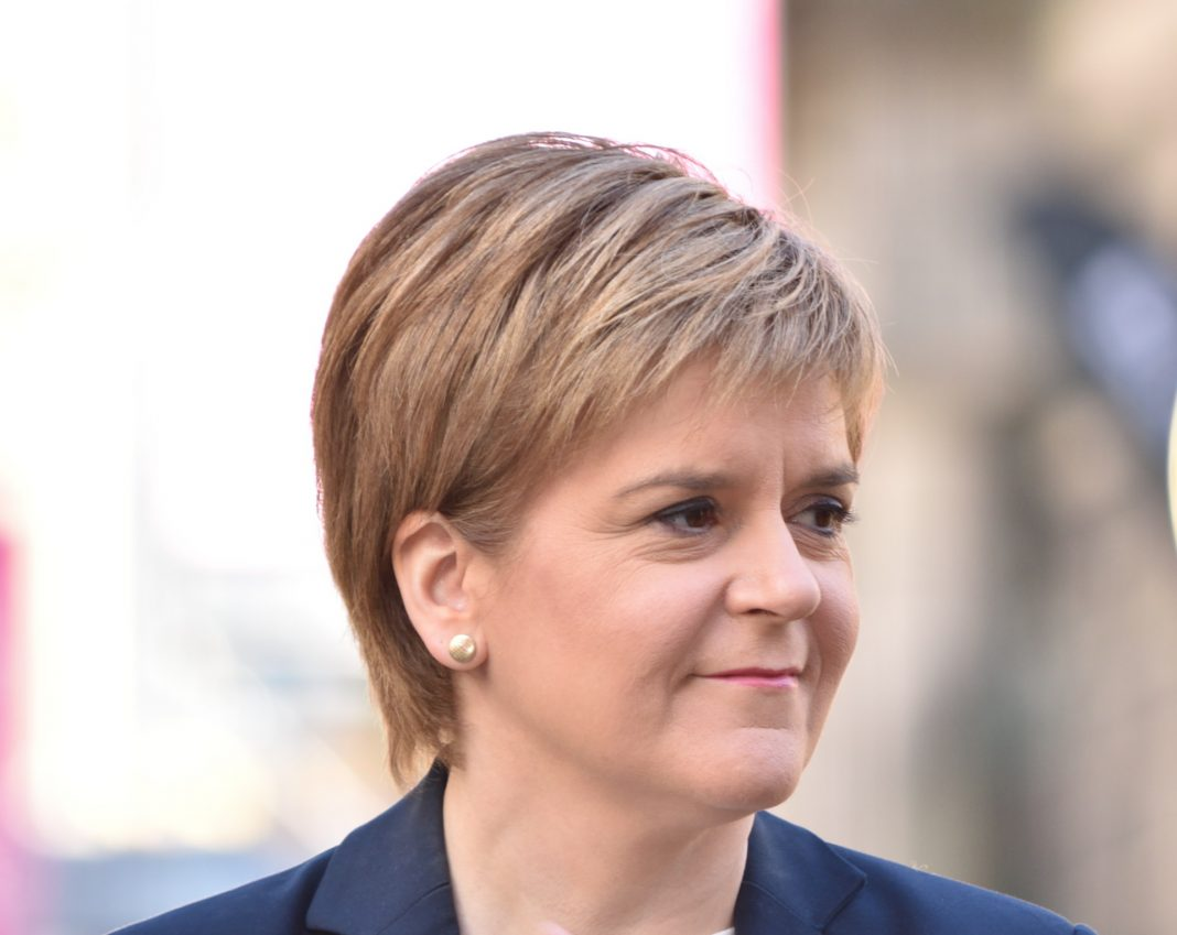 La primera ministra escocesa, Nicola Sturgeon. Imagen de archivo.