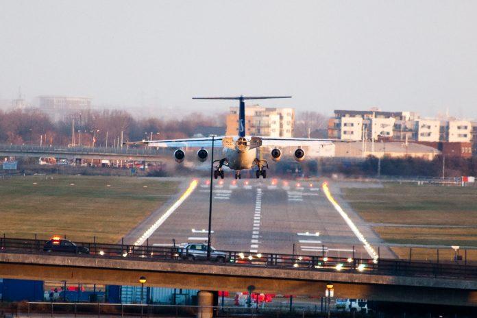 Aeropuerto de London City. Imagen de archivo.