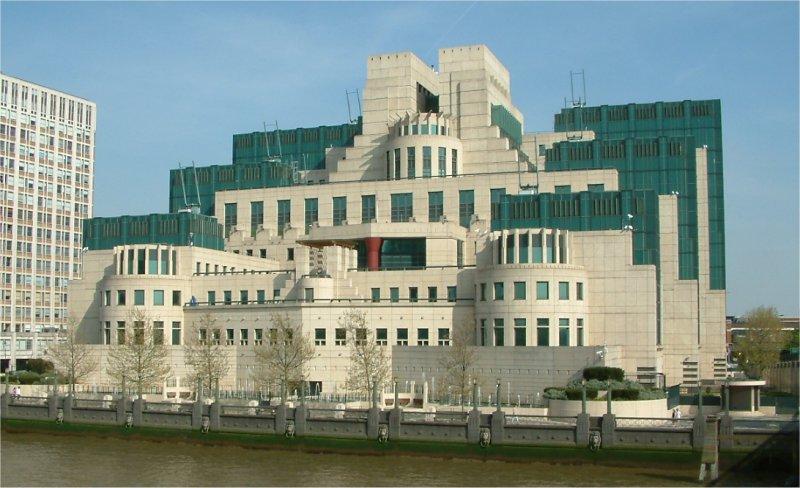 Sede del Servicio de Inteligencia Secreta. Imagen de archivo.