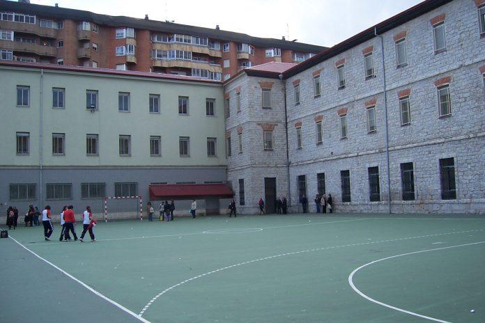 Colegio español. Imagen de archivo.