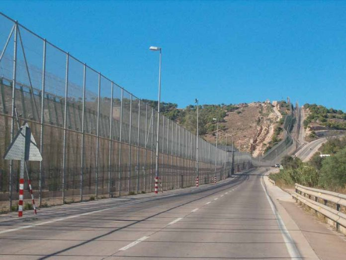 Valla de Melilla. Imagen de archivo.