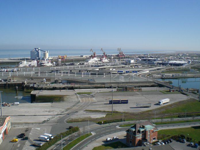 Puerto de Calais. Imagen de archivo.