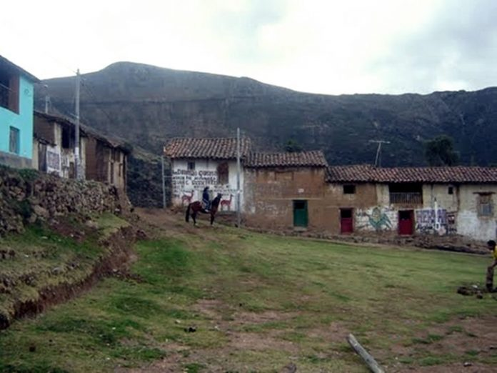 Calles de Accomarca. Imagen de archivo.