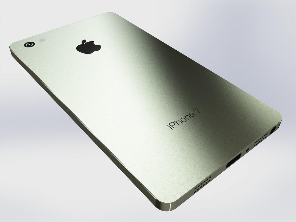 iPhone 7. Imagen de archivo.