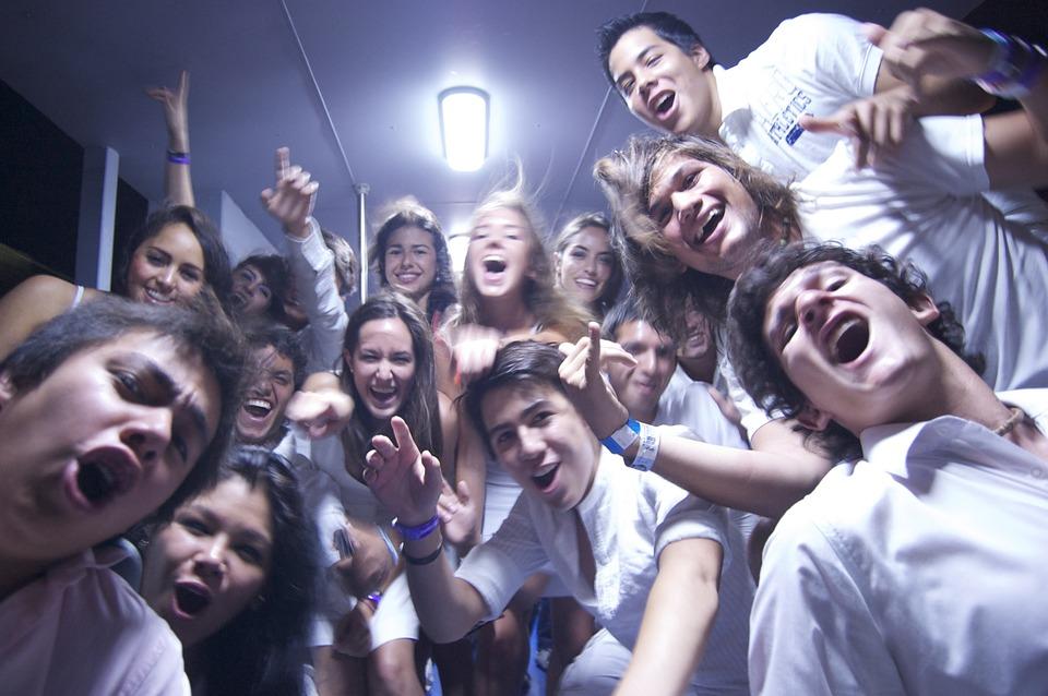 Jóvenes británicos. Imagen de archivo.