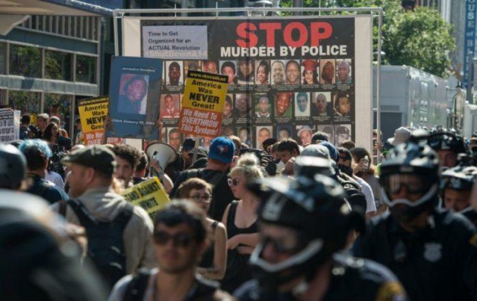 Segunda noche de violencia en Charlotte. www.publinews.gt