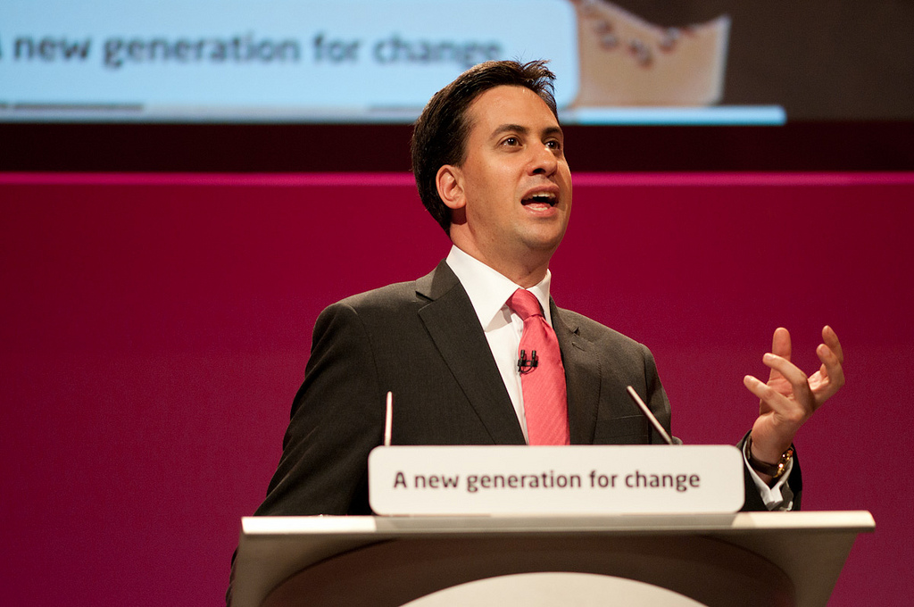 El excanditato laborista a las elecciones generales, Ed Miliband. Imagen de archivo.
