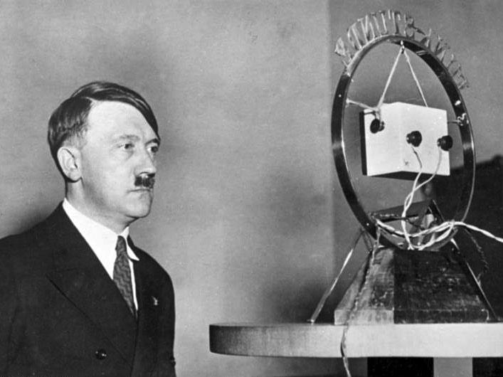 Adolf Hitler. Imagen de archivo.