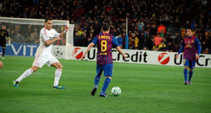 Andrés Iniesta, jugador del Barcelona. Imagen de archivo.