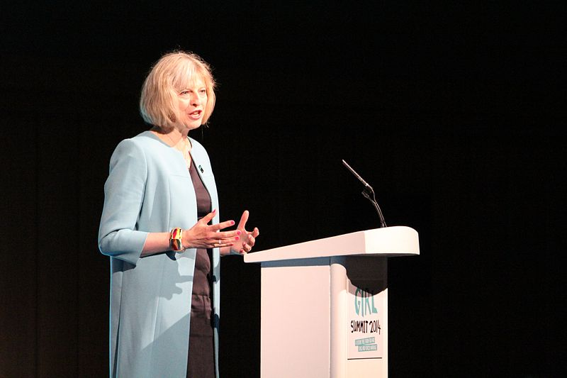 La primera ministra de Reino Unido, Theresa May. Imagen de archivo.