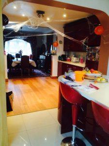 Decoración de fiesta de Halloween.