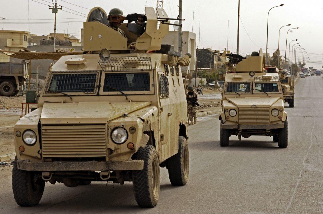 Mosul, Irak. Imagen de archivo.