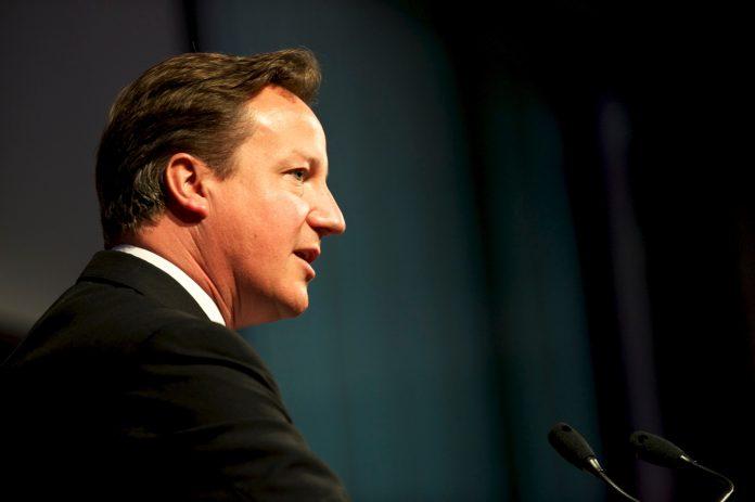 El ex primer ministro británico, David Cameron. Imagen de archivo.