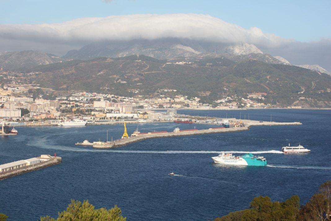 Puerto de Ceuta. Imagen de archivo.