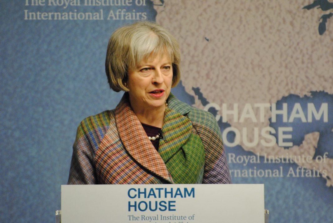 La primera ministra británica, Theresa May. Imagen de archivo.
