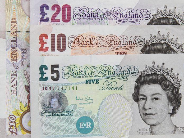 La libra cae ante la incertidumbre del Brexit. Imagen de archivo.