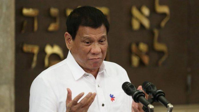 El presidente de Filipinas, Rodrigo Duterte. Imagen de archivo.