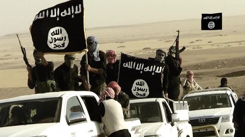 Miembros del Estado Islámico. Imagen de archivo.