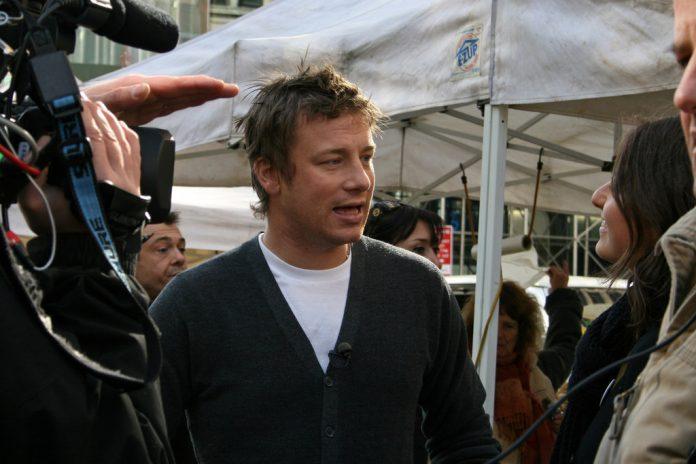 El chef, Jamie Oliver. Imagen de archivo.